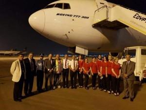 الاردنية للطيران تضم بوينغ 777  ..بالصور.. والكابتن الخشمان: حسبنا الله في المسؤولين