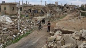 الجيش السوري يقصف مقاتلي المعارضة في منطقة خفض التصعيد