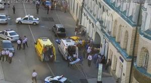 إصابة 8 أشخاص في حادثة دهس وسط موسكو
