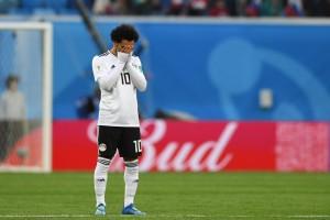 تعرف على فرصة مصر الوحيدة للتأهل إلى دور ال 16 بعد الخسارة من روسيا .. تفاصيل