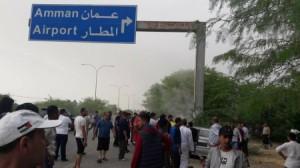وفاة شخص و إصابة أربعة آخرين اثر حادث تدهور على طريق المطار