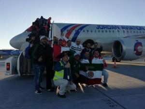 الاردنية للطيران سفير الاردن في كأس العالم (صور)