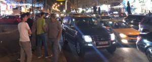 مشاجرة جماعية تغلق شارع المدينة المنورة بالعاصمة عمان