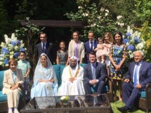 بالصور...عقد قران «زين الشرف» بحضور والدتها الأميرة بسمة ووالدها وليد الكردي