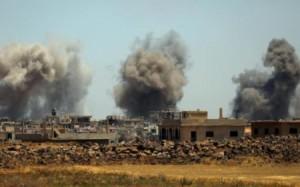 اشتباكات عنيفة بين قوات النظام والمعارضة قرب الحدود الشمالية للأردن