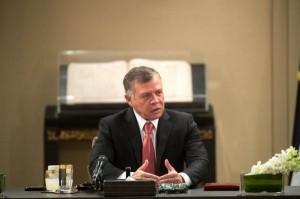الملك يدعو للحفاظ على الاستقرار في منطقة خفض التصعيد جنوب سوريا