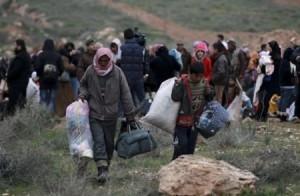 160 ألف سوري على حدود الأردن