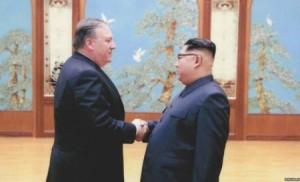 بومبيو إلى كوريا الشمالية لبحث نزع الأسلحة النووية