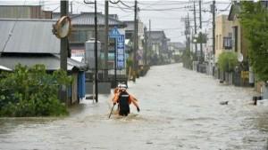 100 قتيل ضحايا الأمطار في اليابان