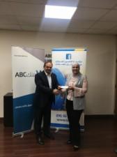 بنك ABC الأردن يواصل دعمه لمؤسسة الحسين للسرطان