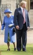 بالصور ..الملكة إليزابيث لم تسلم من فظاظة ترامب
