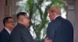 ترامب: زعيم كوريا الشمالية شخصية عظيمة