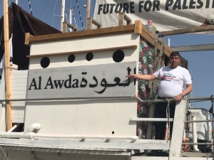 السعود من سفينة العودة: لن يفلحوا في تركيع الفلسطينيين