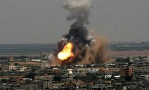 شهيد و3 اصابات بغارات صهيونية على غزة .. وحماس ترد بـ