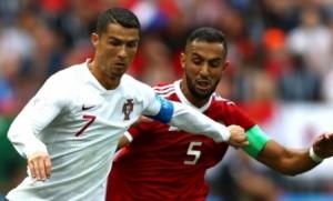 رونالدو يكشف عن علاقته مع المغربي بنعطية