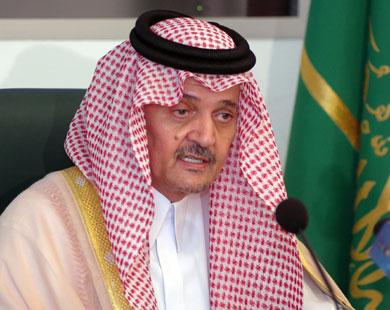 سعود الفيصل: الخيار بين السلام والحرب لن يكون مفتوحا دائما أمام إسرائيل