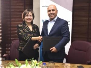 بنك ABC في الأردن (بنك المؤسسة العربية المصرفية (الأردن)) يوقع اتفاقية تمويل مع صندوق الطاقة المتجددة