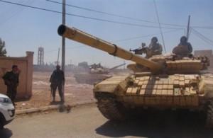 وسائل اعلام : الجيش السوري يؤمن كافة حدوده مع الجولان والحدود الأردنية