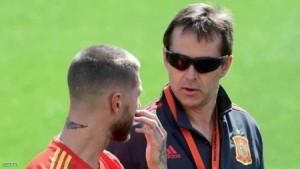 مدرب ريال مدريد وسر النظارة السوداء