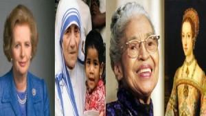 بالصور...تعرف على أهم 19 امرأة ساهمن بتغيير العالم
