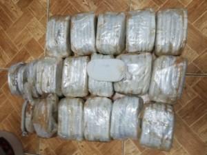بالصور..القبض على ٩ من مروجي المخدرات في البادية واحدى محافظات الشمال والعاصمة عمان