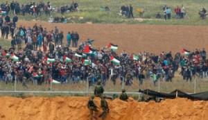 تبادل لإطلاق النار بين جنود إسرائيليين وفلسطيني عند الحدود مع غزة
