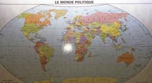 بالصورة ... خريطة جديدة لكوكب الأرض