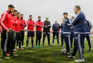 إنهاء خدمات مدرب المنتخب الوطني جمال ابو عابد والبلجيكي فيتال خلف له