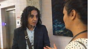 الفنان عماد أبو حشيش يفتتح معرضه الشخصي في ايطاليا تحت عنوان فضاءات سرمدية
