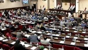 فوز محمد الحلبوسي برئاسة البرلمان العراقي