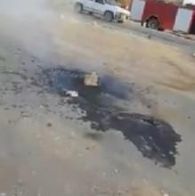 الطاقة تنفي صحة مقطع فيديو يوثق خروج النفط في منطقة الأزرق