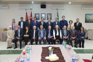 جامعة البترا تكرم عمدائها السابقين