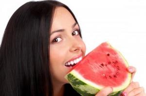 البطيخ لزيادة نضارة الوجه
