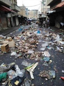 صورة تلخص كارثة اضراب البلديات