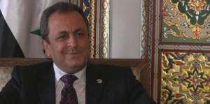 القائم بأعمال السفارة السورية في الاردن يهنئ بفتح المعبر