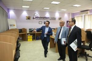 جامعة البترا تبحث التعاون العلمي مع معهد الدوحة للدراسات العليا