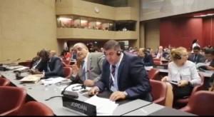 السعود يطالب بطرد وفد للكيان الاسرائيلي من مؤتمر عالمي في جنيف (فيديو)