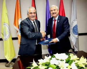 اتفاقية تعاون بين جامعة الأميرة سمية للتكنولوجيا وجامعة عمان الأهلية