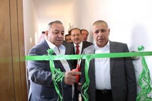 اللوزي و الخشمان يفتتحان مقر حزب الاتحاد الوطني الاردني