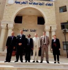 جامعة عمان الاهلية تشارك في ورشة عمل لإتحاد الجامعات العربية
