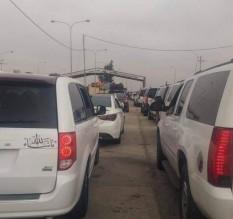 محافظ المفرق :وصول المواطنين قبل بدء الدوام الرسمي سبب الأزمة المرورية على حدود جابر