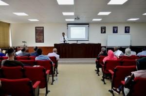 محاضرة في كلية الحقوق بجامعة عمان الاهلية بعنوان