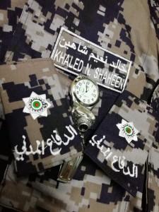 خالد نعيم  شاهين مبارك الترفيع   برتبة ملازم ثاني
