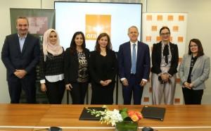 Orange الأردن تدعم نشاطات ومبادرات الجمعية الوطنية للمحافظة على البترا