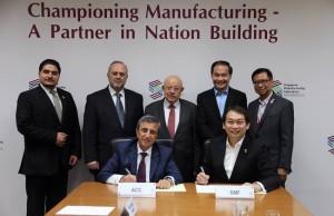 مذكرة تفاهم بين تجارة عمان واتحاد الصناعات السنغافوري