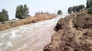 سيول مائية جارفة تدمر 20 قرية عراقية!