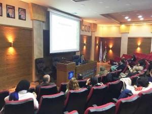 ورشة عمل لكلية الآداب والعلوم  بجامعة عمان الاهلية حول أساليب كتابة البحث العلمي وفق معايير المجلات العالمية