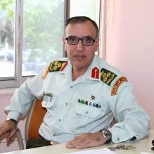 معالي مالك حداد يهنئ  اللواء الدكتور محمد ابو السمن