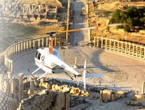 بالفيديو...أول رحلة بالتاكسي الطائر في الأردن