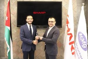 مجموعة حيدر مراد واولاده تحقق اعلى نسبة مبيعات من جلايات شارب في منطقة الشرق الاوسط